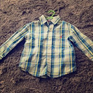 Two year old Nautica button up shirt